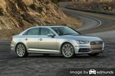 Insurance rates Audi A4 in Lincoln
