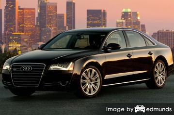 Insurance rates Audi A8 in Lincoln