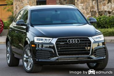 Insurance rates Audi Q3 in Lincoln