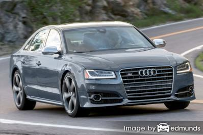 Insurance rates Audi S8 in Lincoln