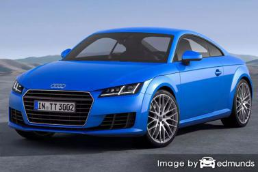 Insurance rates Audi TTS in Lincoln