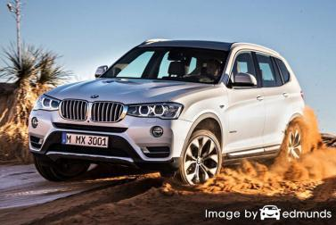 Insurance rates BMW X3 in Lincoln