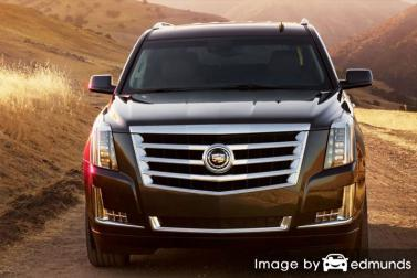 Discount Cadillac Escalade insurance
