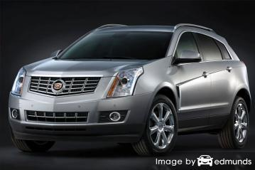 Insurance rates Cadillac SRX in Lincoln