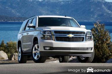 Insurance quote for Chevy Tahoe in Lincoln
