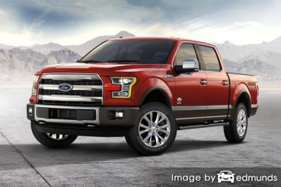 Insurance quote for Ford F-150 in Lincoln