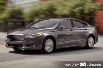 Insurance rates Ford Fusion Hybrid in Lincoln