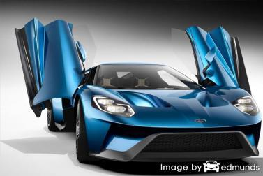 Insurance rates Ford GT in Lincoln