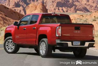 Insurance quote for GMC Canyon in Lincoln