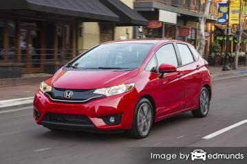 Insurance rates Honda Fit in Lincoln