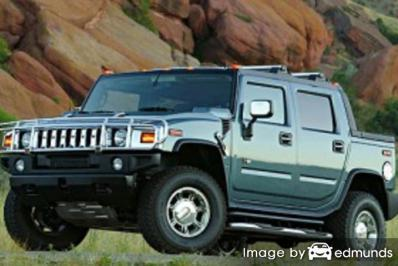 Discount Hummer H2 SUT insurance
