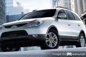 Insurance rates Hyundai Veracruz in Lincoln