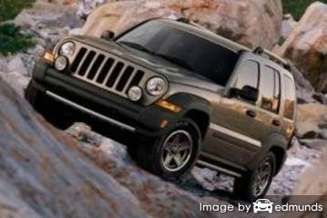 Insurance quote for Jeep Liberty in Lincoln