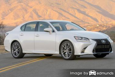Insurance quote for Lexus GS 350 in Lincoln
