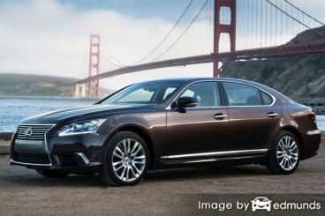 Insurance quote for Lexus LS 600h L in Lincoln