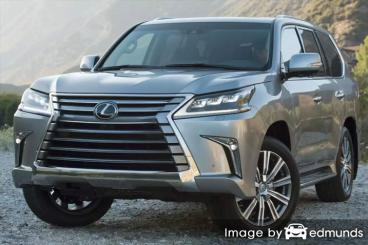 Insurance quote for Lexus LX 570 in Lincoln