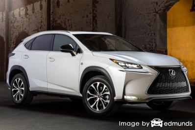 Insurance quote for Lexus NX 200t in Lincoln