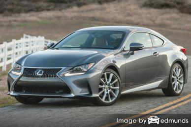 Insurance quote for Lexus RC 300 in Lincoln