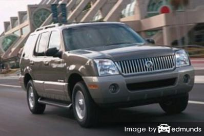 Insurance rates Mercury Mountaineer in Lincoln
