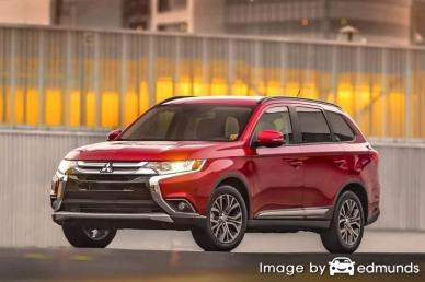 Insurance rates Mitsubishi Outlander in Lincoln