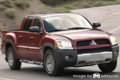 Insurance rates Mitsubishi Raider in Lincoln