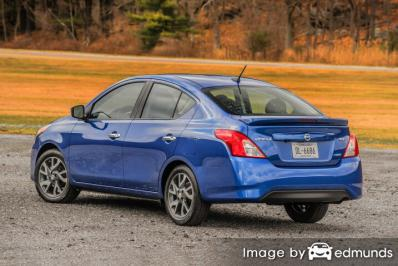 Insurance rates Nissan Versa in Lincoln