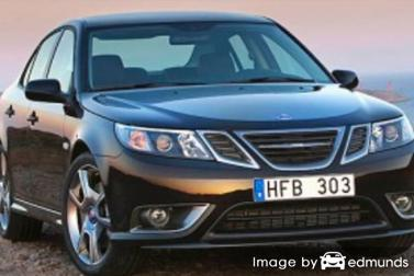 Insurance quote for Saab 9-3 in Lincoln