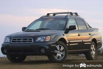 Insurance quote for Subaru Baja in Lincoln