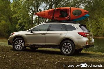 Insurance rates Subaru Outback in Lincoln