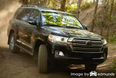 Insurance quote for Toyota Land Cruiser in Lincoln
