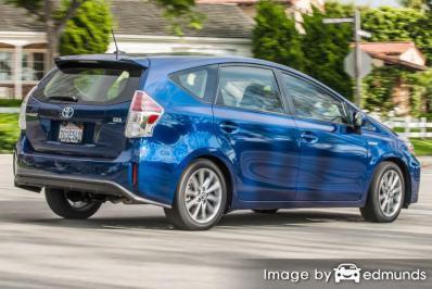 Insurance quote for Toyota Prius V in Lincoln